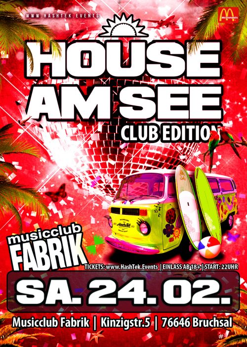 House am See Club Tour Bruchsal