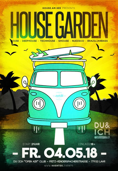 House Garden im Du&Ich Open Air Club in Lahr made by House am see