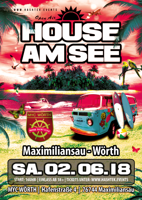 House am see, Maximiliansau Wörth Karlsruhe Beach Edition